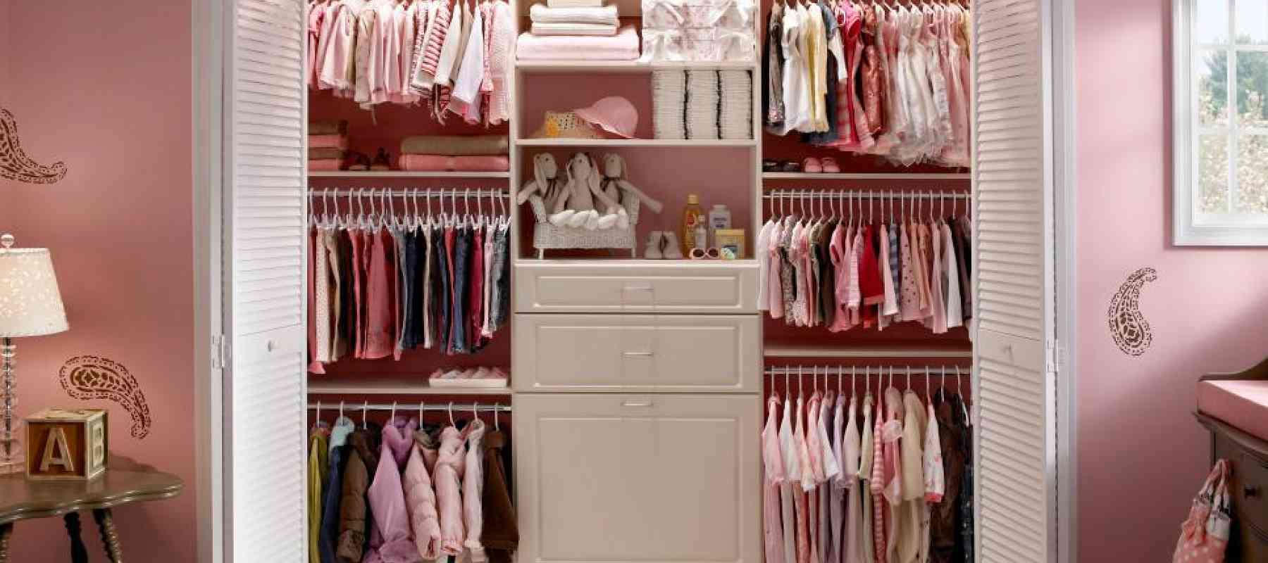 Make Baby Space by Customizing a Closet